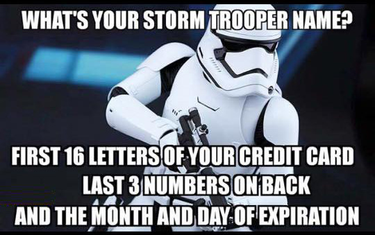 Stormtrooper @ Compliance3.com